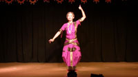 Bharatanatyam dance video