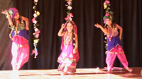 Semi-classical indian dance video