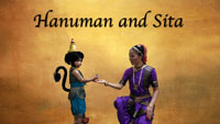Hanuman and Sita dance film to Nagumomu